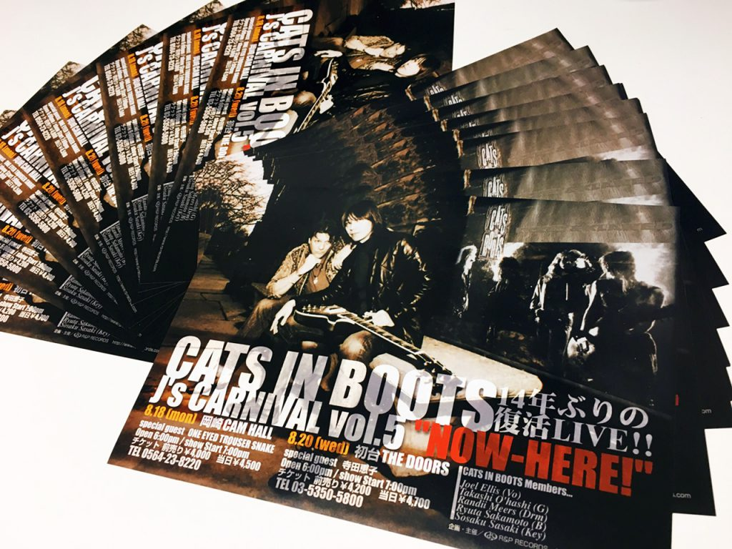 CATS IN BOOTS flyer