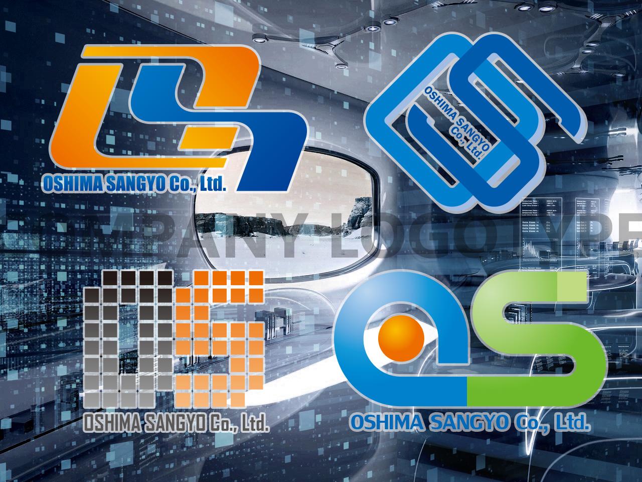 OSHIMA SANGYO Co., Ltd. Logotype